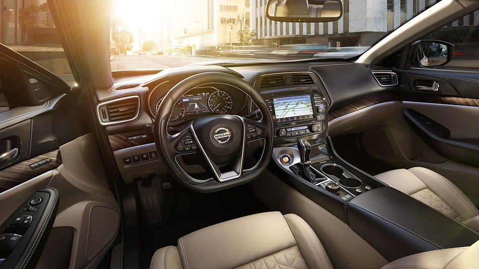 2016 nissan maxima features and specs nissan dealership charlotte nc. Black Bedroom Furniture Sets. Home Design Ideas