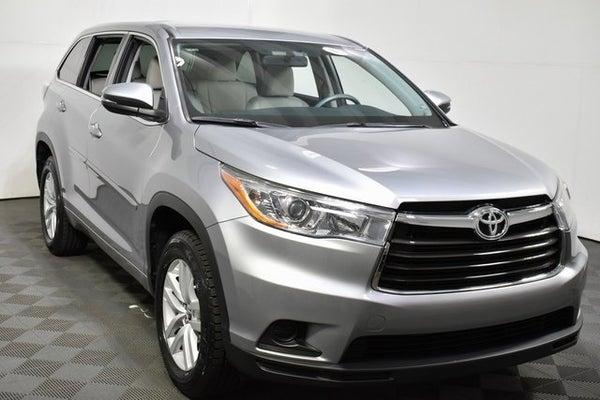 2016 Toyota Highlander Le >> 2016 Toyota Highlander Le 4dr Sport Utility